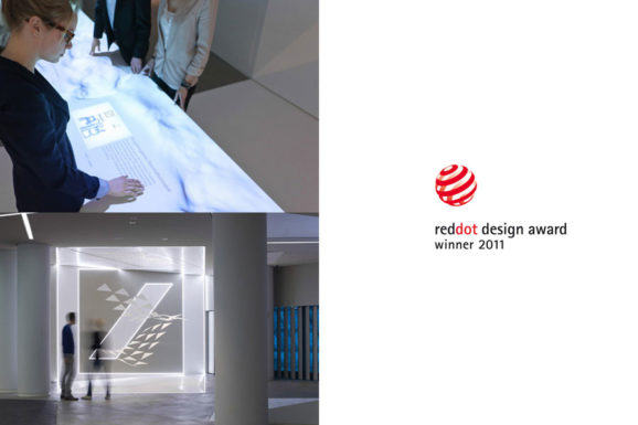 Red Dot Design Award for Deutsche Bank BrandSpace