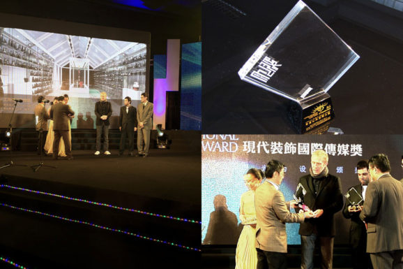 COORDINATION ASIA awarded with Modern Decoration Award 2011