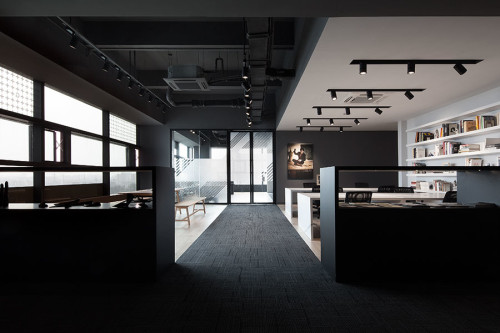 COORDINATION ASIA's office in the Shanghai Museum of Glass Park N1 Tower.