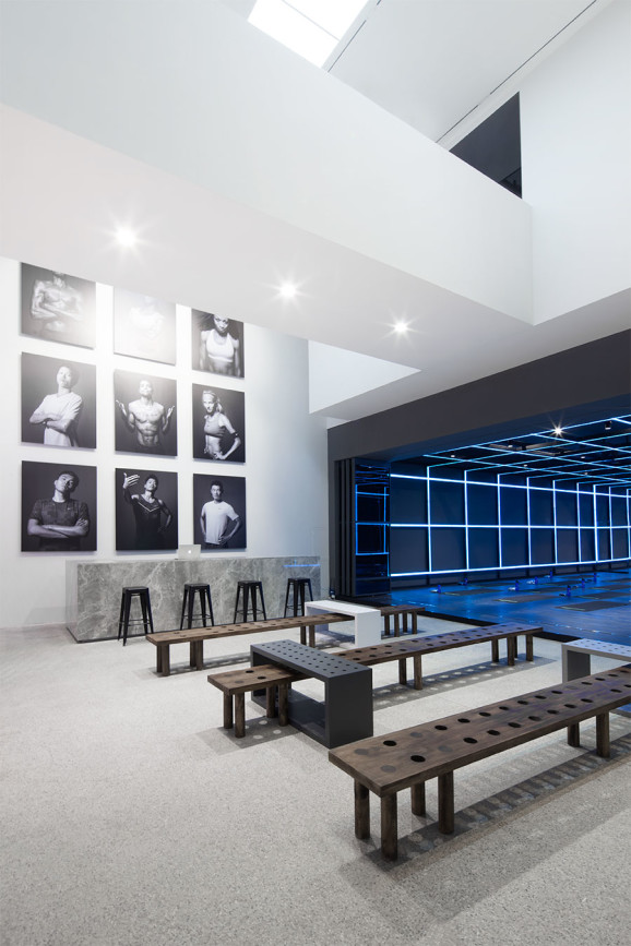 The Nike Studio Beijing by COORDINATION ASIA #design #nike #beijing #studio #gym
