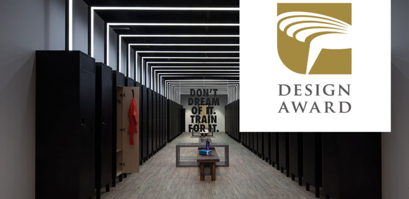 The Nike Studio Beijing designed by COORDINATION ASIA awarded a Golden Pin Award for Spatial Design!