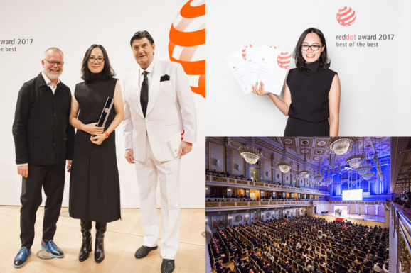 FOUR RED DOT DESIGN AWARDS 2017 FOR COORDINATION ASIA